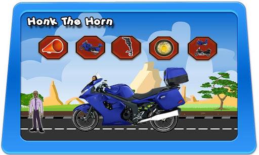 Touring Motorbike Toy