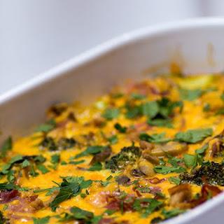 Keto Veggie-Loaded Breakfast Casserole – 4g Carbs Per Serving Recipe