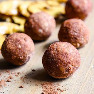 Cocoa Cashew Pretzel Energy Bites (Gluten Free)