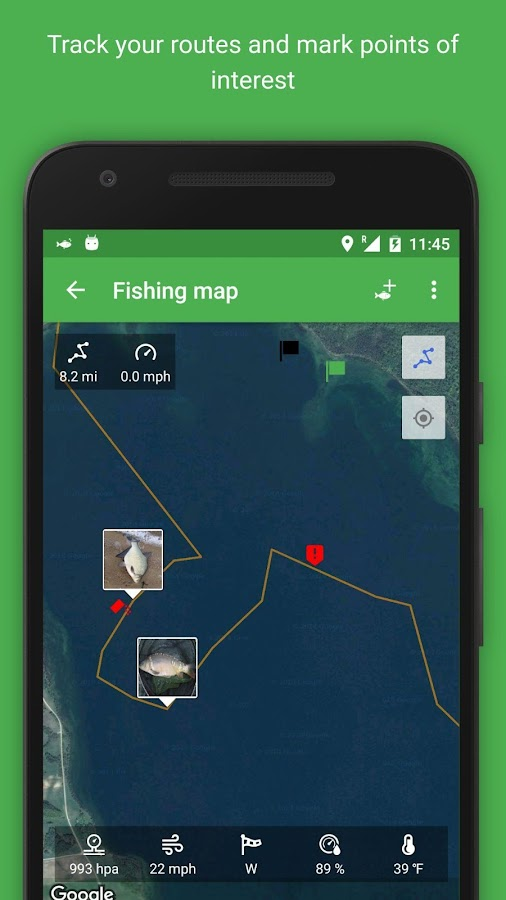 Fishmemo fishing tracker android apps on google play for Fish tracker app
