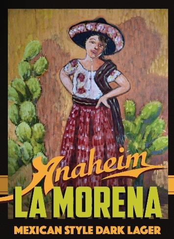 Logo of Anaheim La Morena