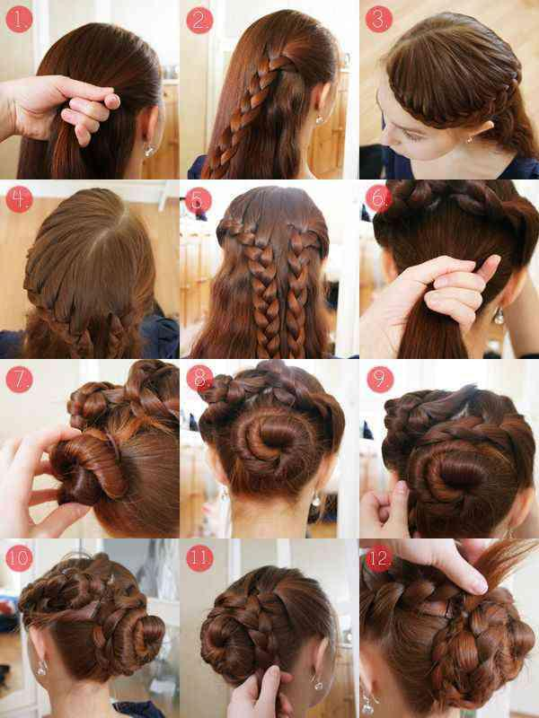 Sensational Easy Hairstyle Step By Step Android Apps On Google Play Hairstyle Inspiration Daily Dogsangcom