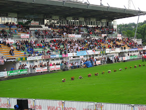 Photo: Les tribunes