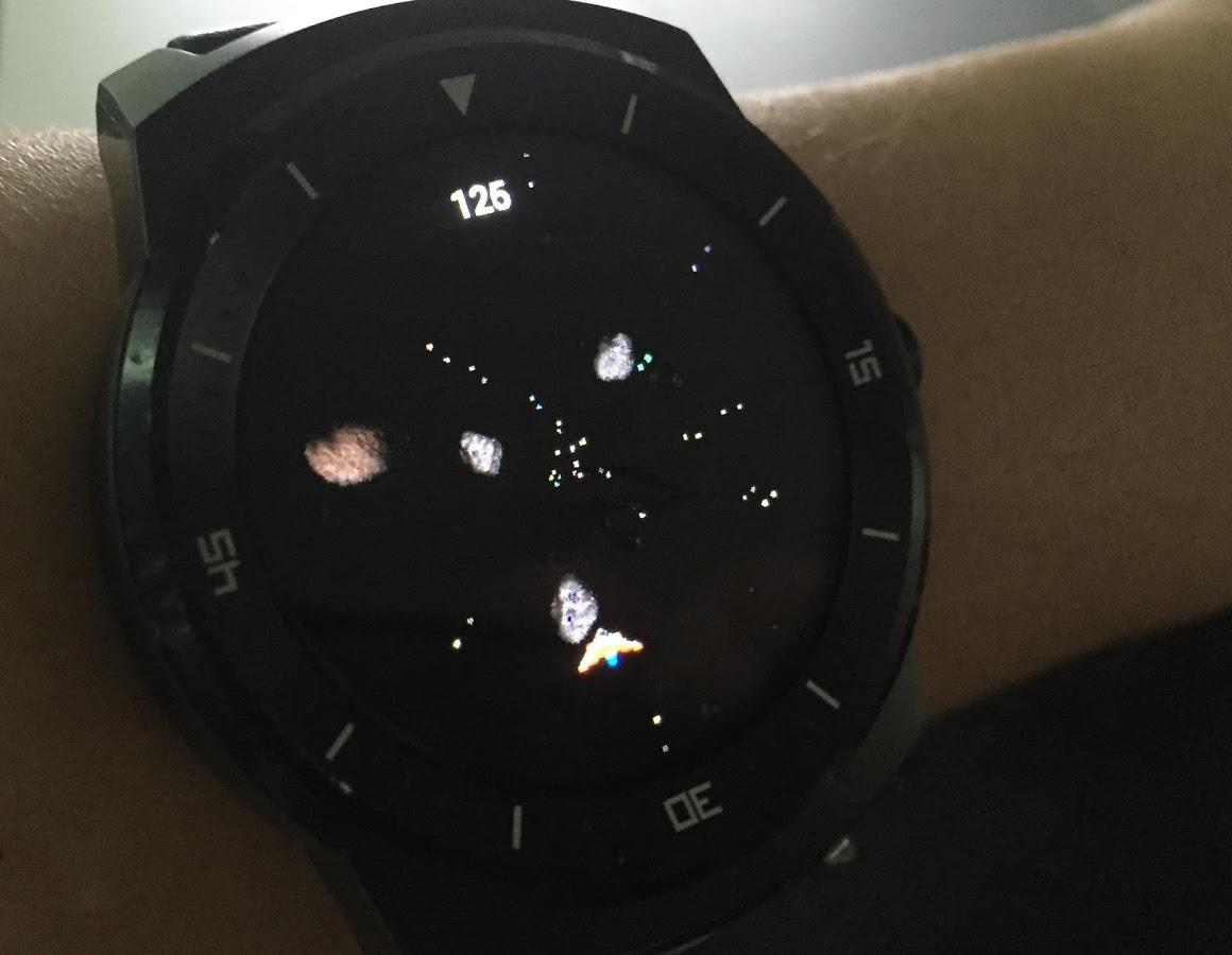 SATURN 3D (Wear OS)- screenshot