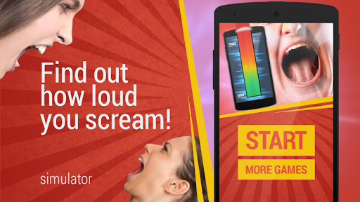 Voice: Scream Meter simulator