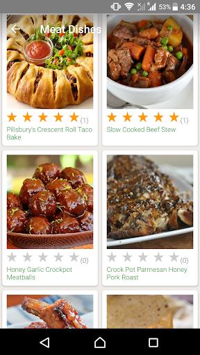CrockPot and Oven Recipes Screenshot
