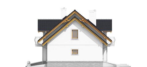 Dom Dla Ciebie 1 z garażem 2-st. A1 - Elewacja prawa