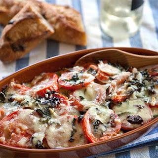 Zucchini-Tomato Gratin