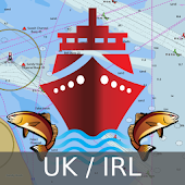 UK/Ireland Marine Navigation Charts & Fishing Maps