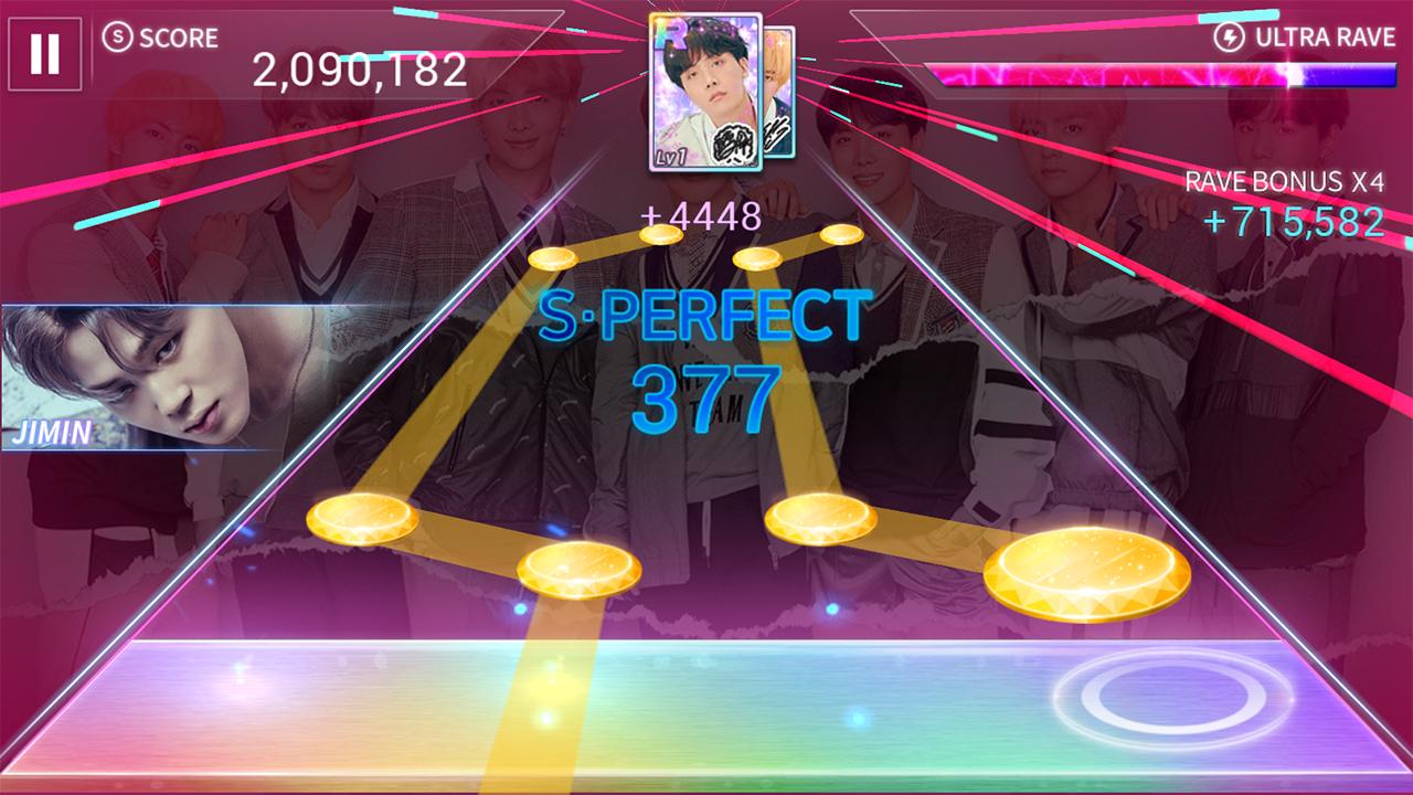 SuperStar BTS screenshots