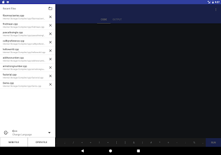 Online compiler beta android apps on google play C language online editor