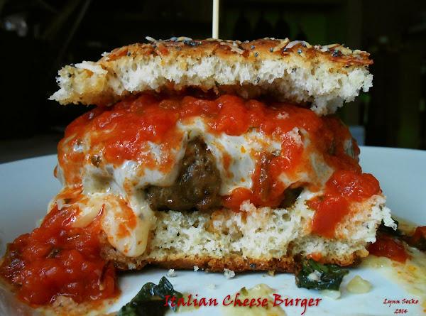Italian Cheese Burger Recipe