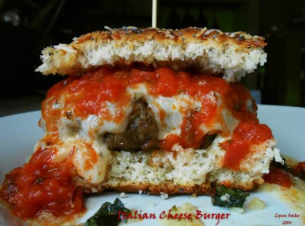 Italian Cheese Burger Recipe