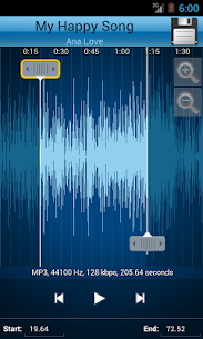 MP3 Cutter and Ringtone Maker♫ Apk 3