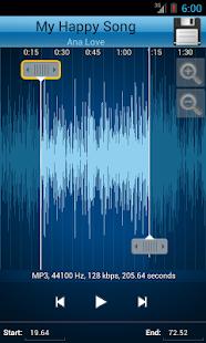 App MP3 Cutter and Ringtone Maker♫ APK for Windows Phone