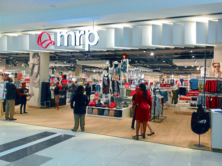 Mr Price Group has reported a drop in headline earnings for the first time in 16 years. Picture: BLOOMBERG