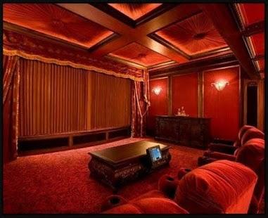 design domácího kina - náhled