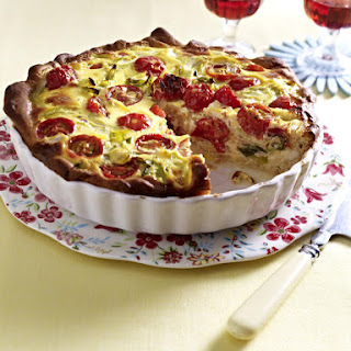 Beef and Tomato Pizza Tart.