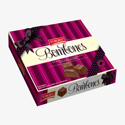 Chocolate St Moritz Bombonera Regalos 110Gr