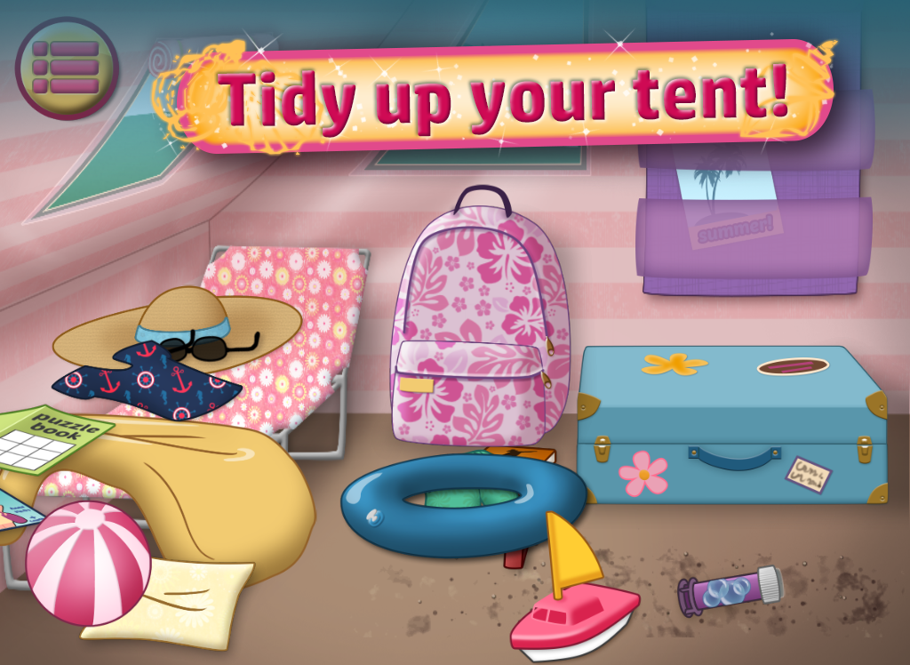 Summer Girl : Camping Life- screenshot