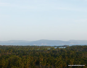 Photo: Evening light overlooking the mouth of the Rio San Cristobal from the San Blas fort