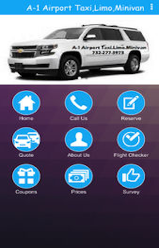 A-1 Airport Taxi,Limo,Minivan- screenshot