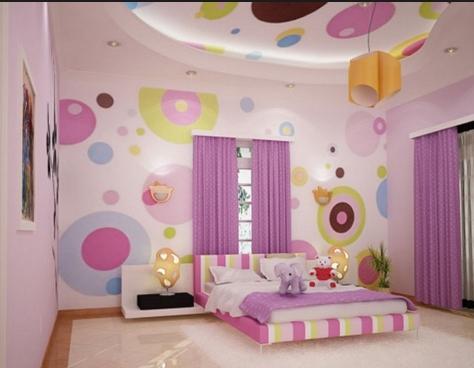 卧室装饰对于女孩