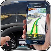 GPS Navigation, Maps, Driving Directions, Tracker