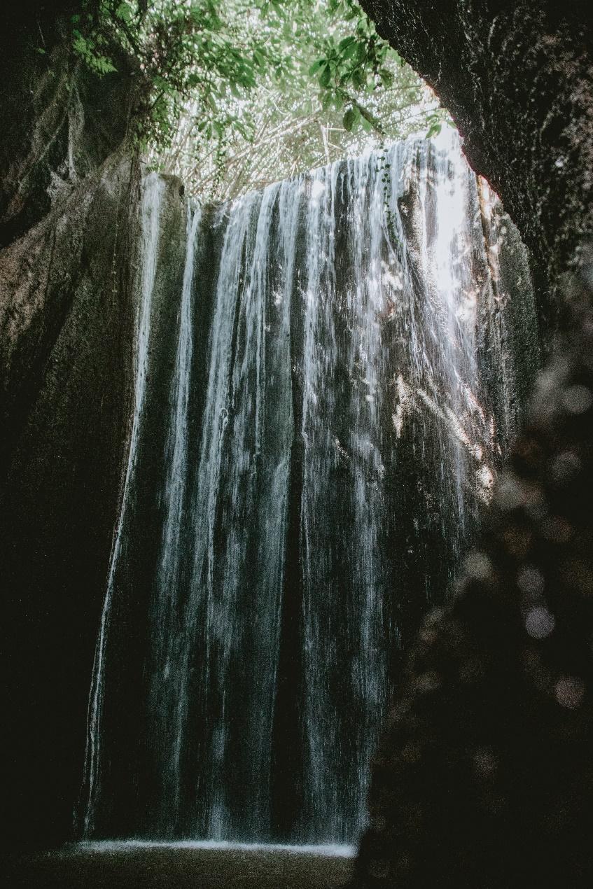 Tukad Cepung ubud Waterfalls