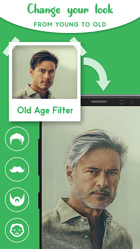 Old Age Face effects App screenshot 3