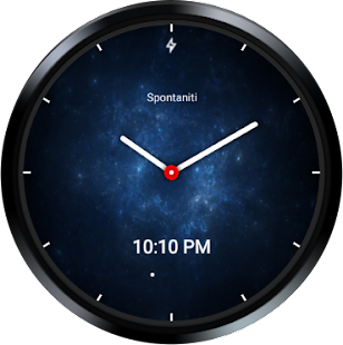 Nebula Watch Face - Wear OS / Android Wear 2.0 Screenshot
