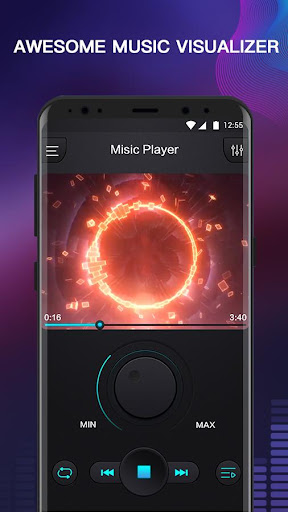 Free Music - MP3 Player, Equalizer & Bass Booster 1.1 screenshots 2