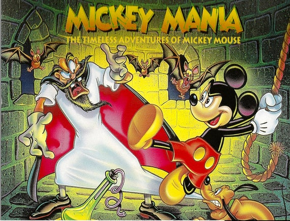 Image result for mickey mania snes