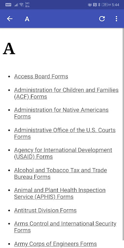Government Forms 1.9 androidtablet.us 2