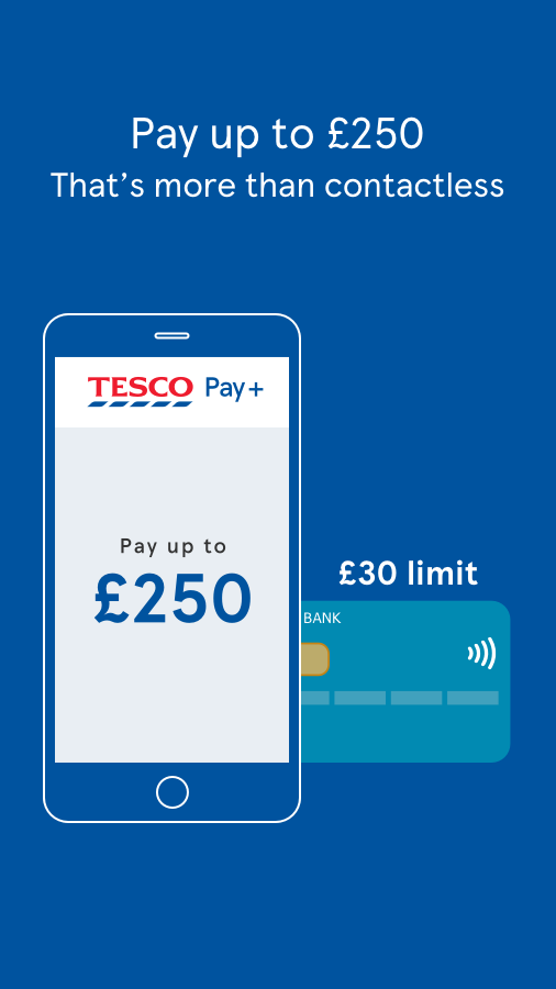 Tesco Pay+ for simple checkout- screenshot