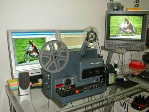Photo: Telecine voor digitaliseren van dubbel 8 en super 8 films naar DVD - harde schijf of usbstick
