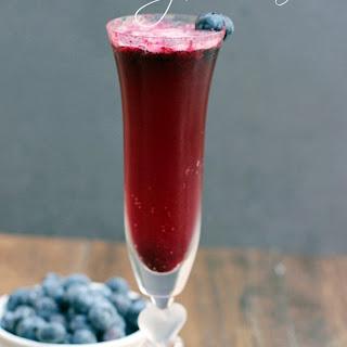Blueberry Mimosa