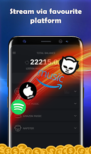 App AAMusic stream music and earn money! APK for Windows Phone
