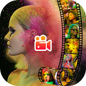 Holi HD Video Maker (2019) Android APK Download Free By Video Status Guru Infinitive