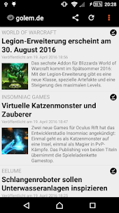 unofficial golem.de Reader- screenshot thumbnail