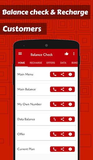 app for recharge & balance check screenshot 1