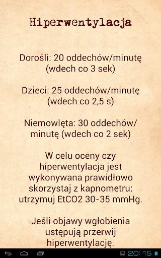 Ratownictwo medyczne algorytmy  screenshots 13