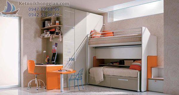 thiết kế nội thất căn hộ với nội thất thông minh