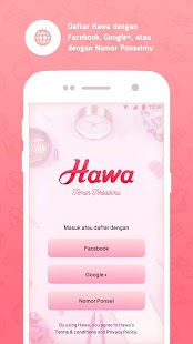 HAWA - Period Tracker App Indonesia - náhled