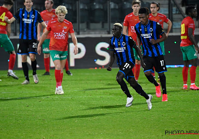 Moedig Oostende kapseist met tien in het slot, Club Brugge hijst zich naast Charleroi aan de leiding