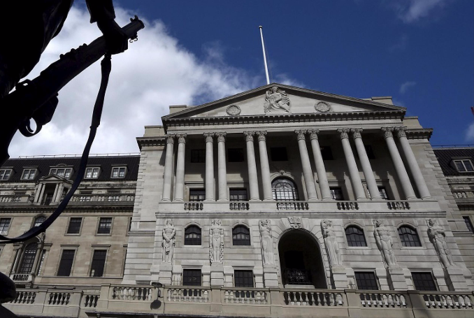 The Bank of England. Picture: REUTERS/TOBY MELVILLE