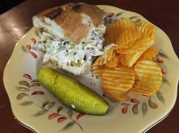 Hickory Smoked Tuna,pecans & Smokey Bacon Torta Recipe