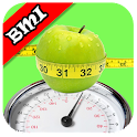 BMI weight loss tracker icon