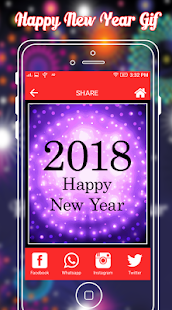 Happy New Year GIF 2018 - 2018 New Year GIF - náhled