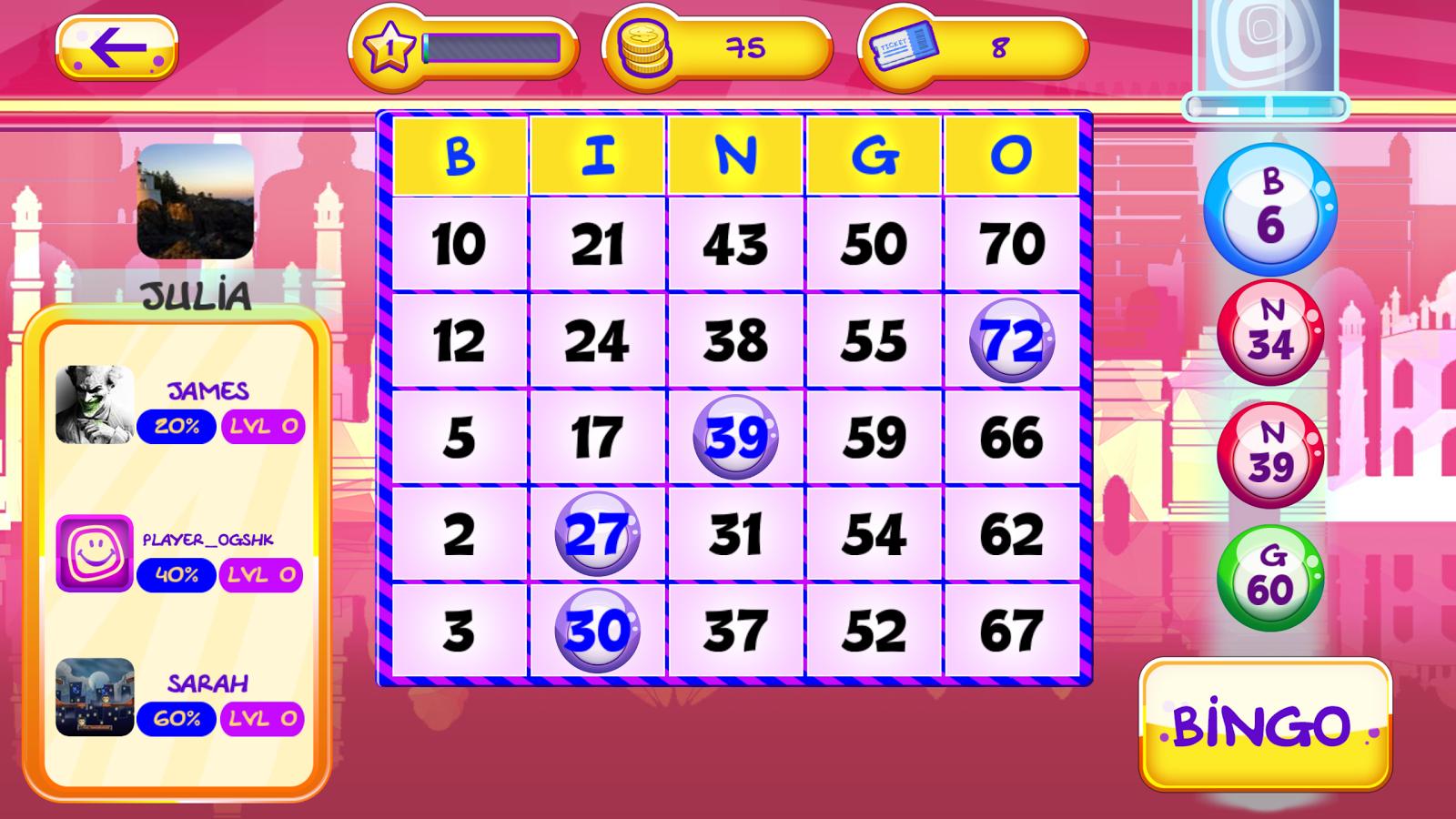 Play Bingo - Online Bingo Games